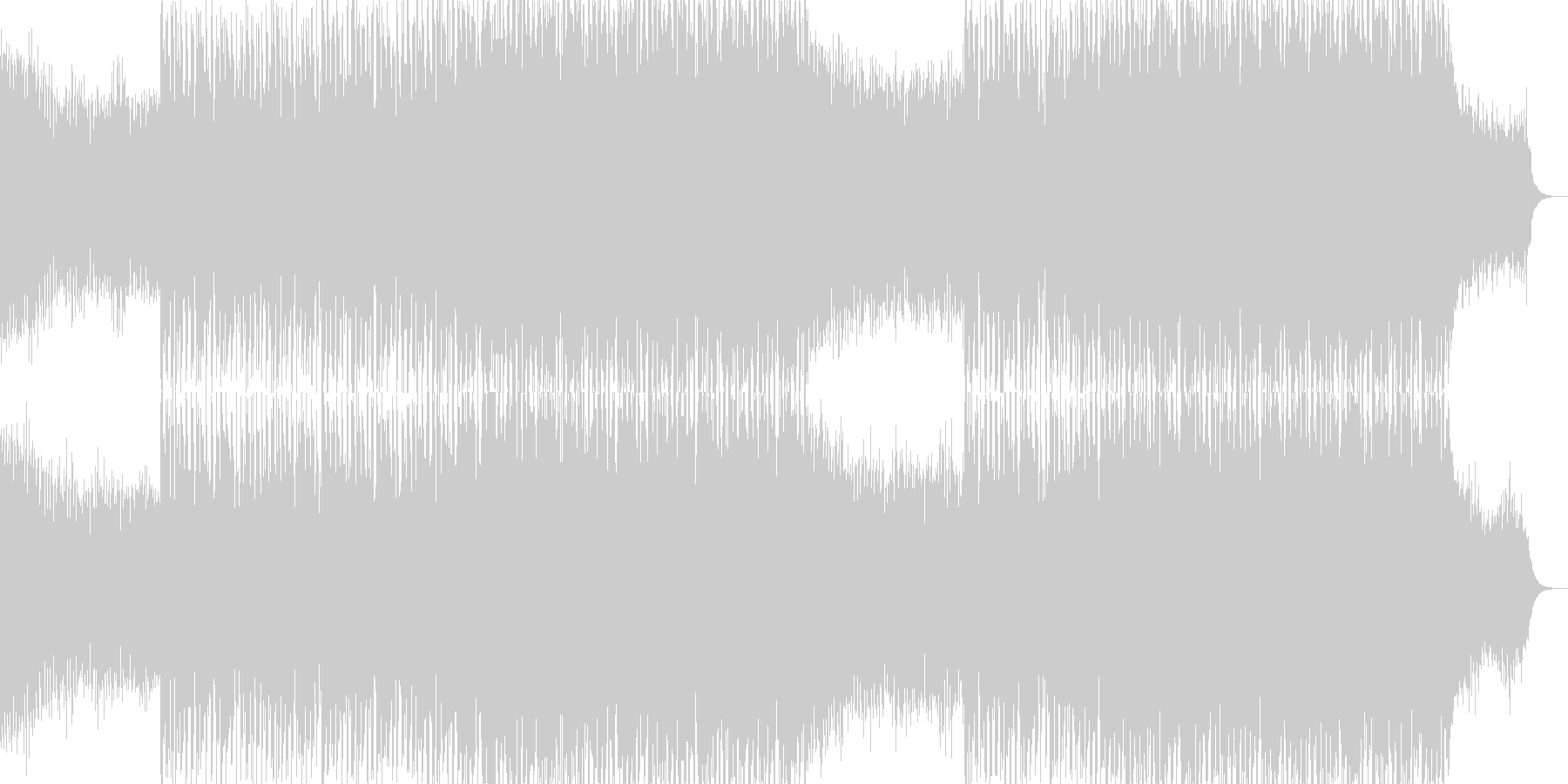 EDMクラブ系ダンスミュージック-81の未再生の波形
