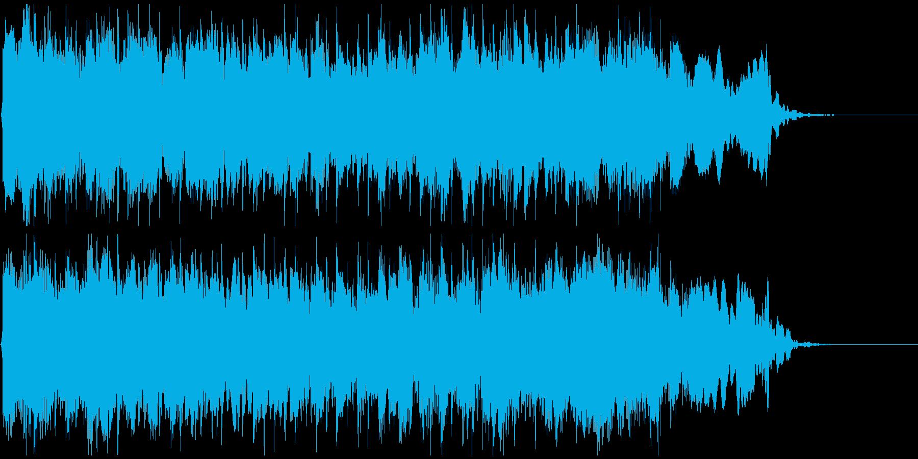 ゴリゴリな和風EDMジングル!篠笛生演奏の再生済みの波形