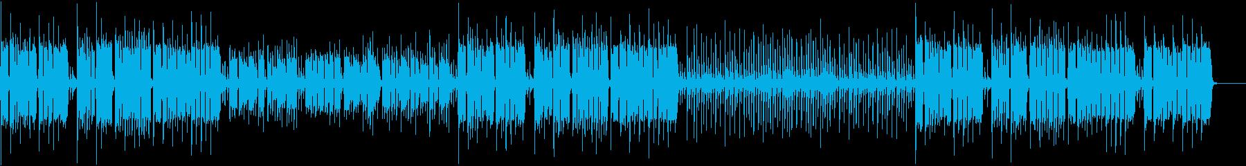 リコーダーがほのぼの可愛い「お正月」の再生済みの波形