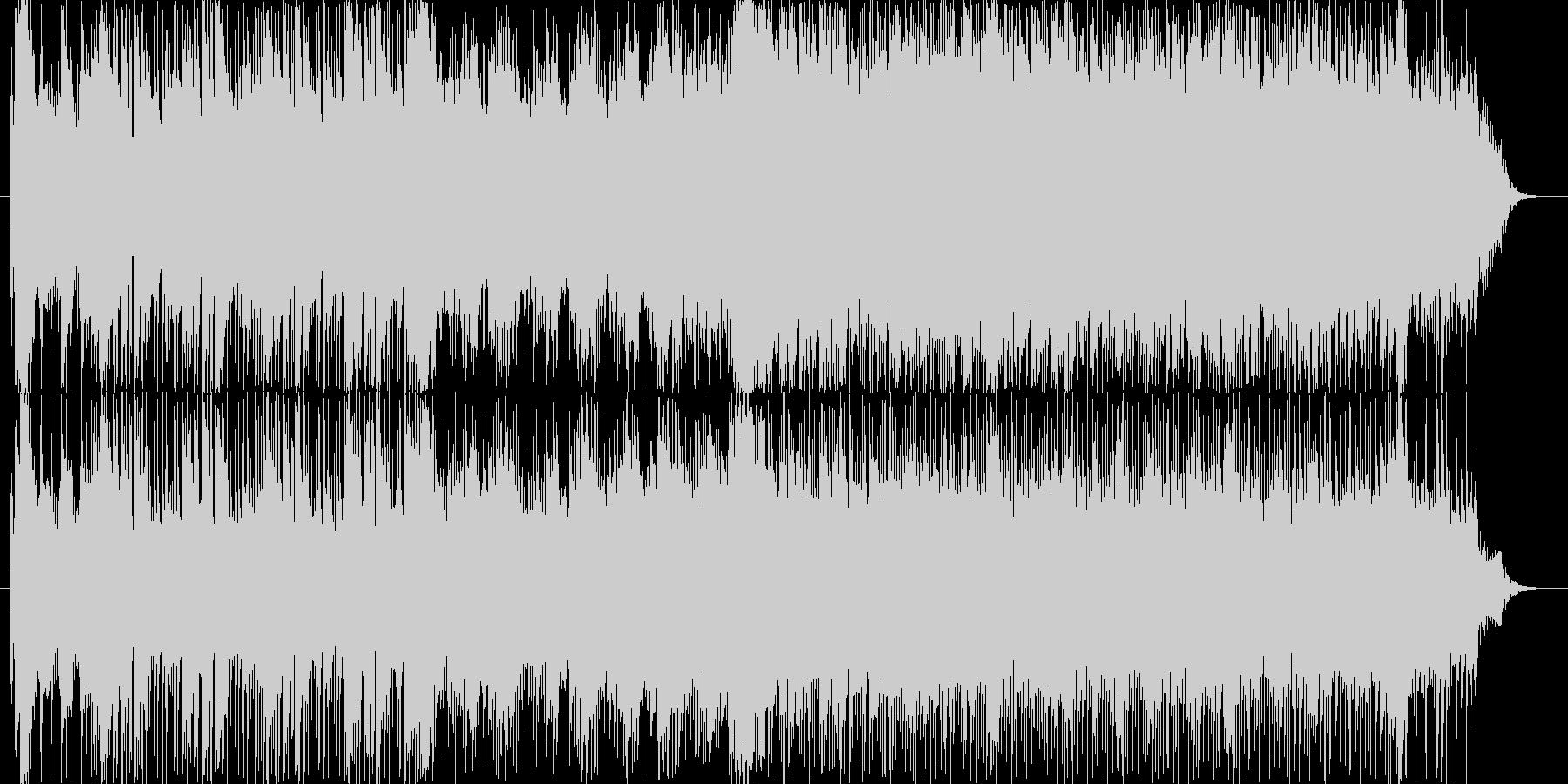 オーケストラとロックを融合させた、孤独…の未再生の波形