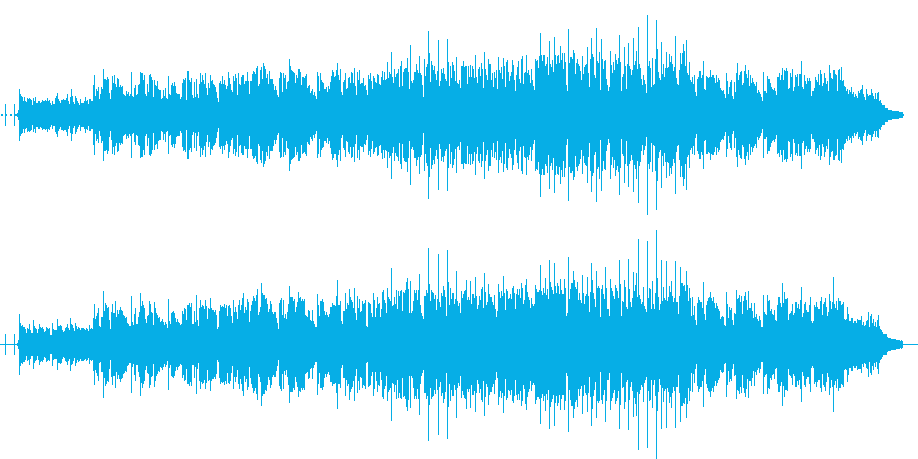 アンニュイなギタースローバラードです。の再生済みの波形