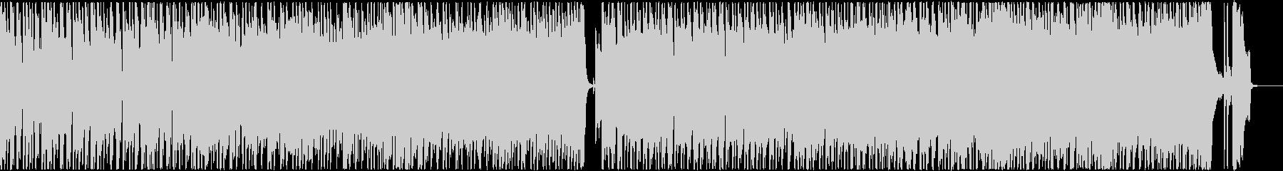 疾走感溢れるハードロック調イントロの未再生の波形