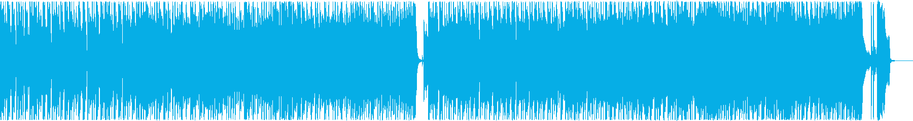 疾走感溢れるハードロック調イントロの再生済みの波形