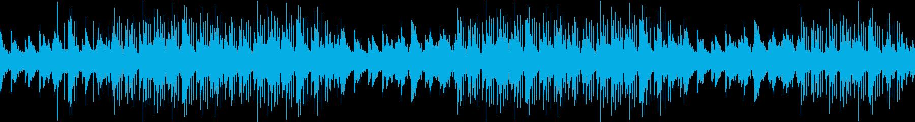 アンビエント・お洒落・繊細・ピアノの再生済みの波形
