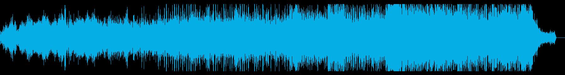 神秘的で音程の希薄なアンビエントIDMの再生済みの波形