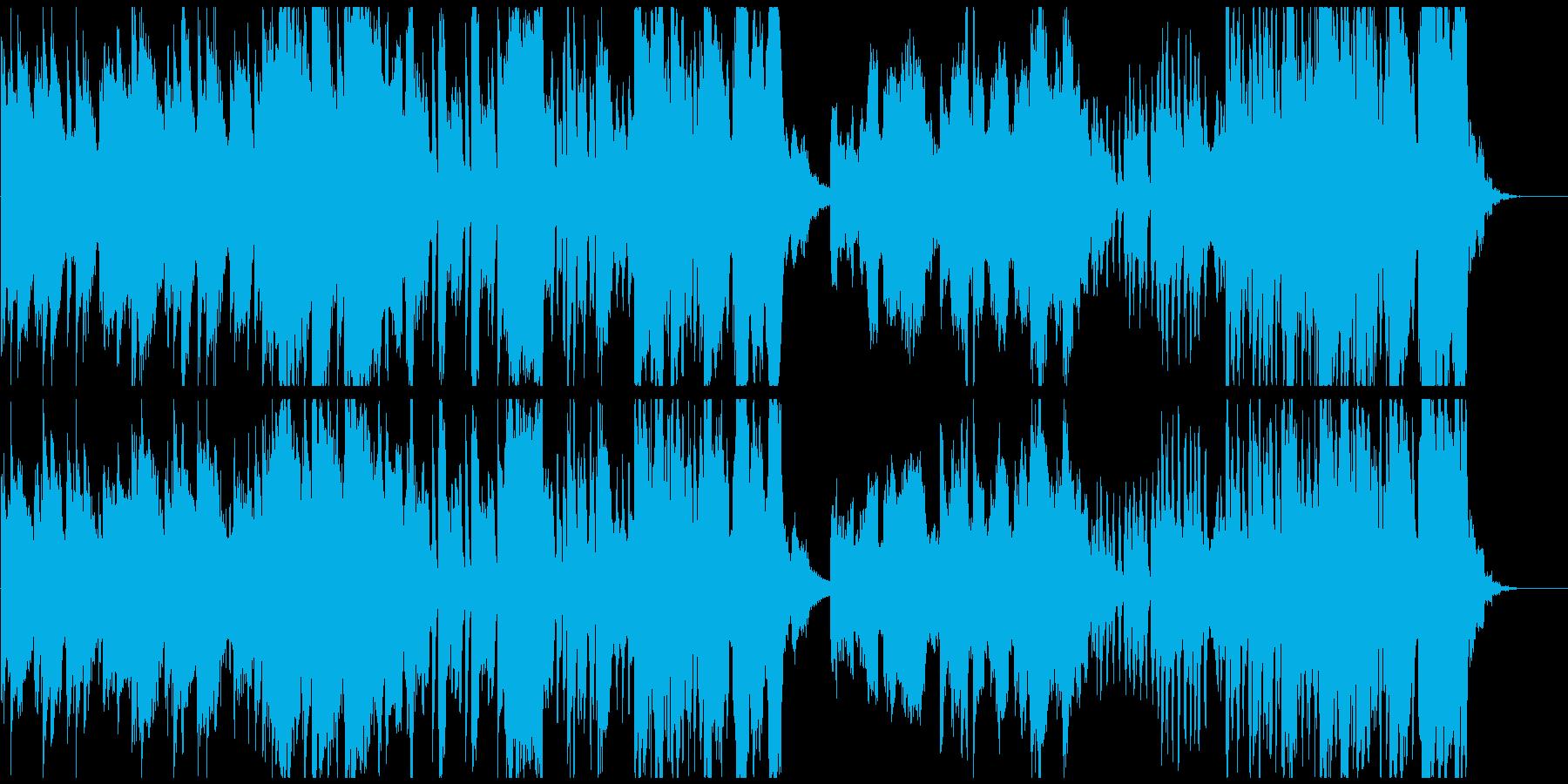 ゲームにありそうなかっこいいクラッシックの再生済みの波形