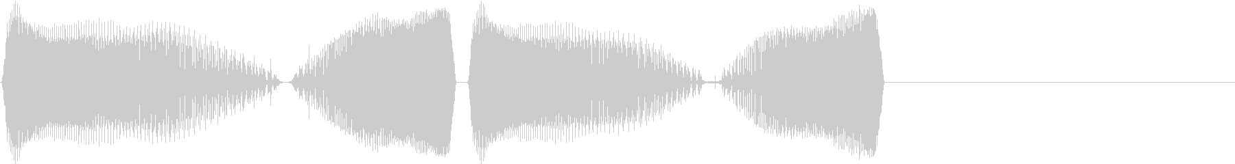 DJプレイ スクラッチ・ノイズ 15の未再生の波形