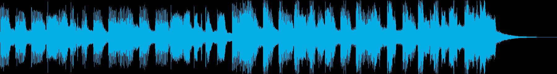おしゃれチルヒップホップR&Bハウスdの再生済みの波形