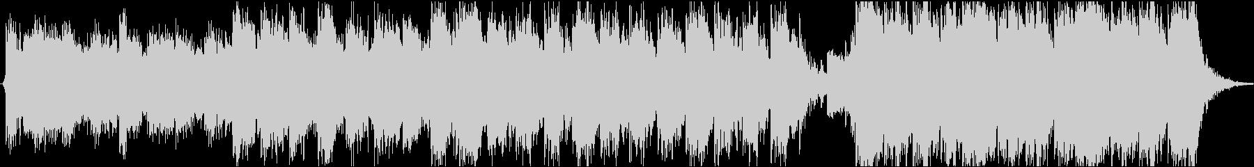 Cinematic Musicの未再生の波形