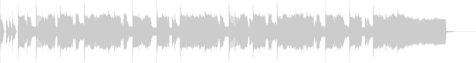 30秒CMおちついた雰囲気のギターの未再生の波形