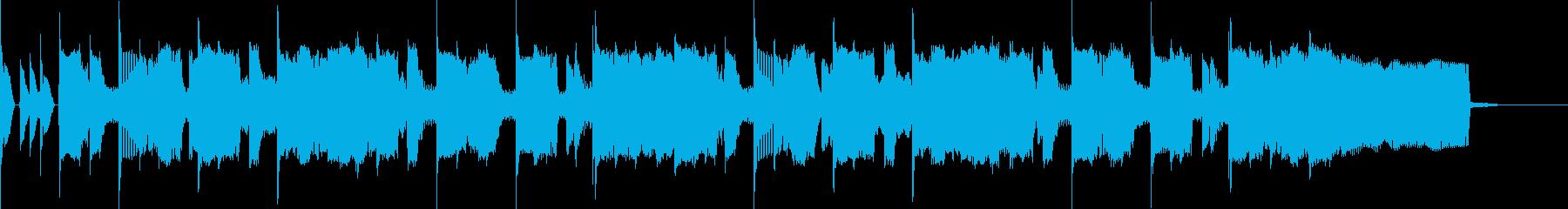 30秒CMおちついた雰囲気のギターの再生済みの波形