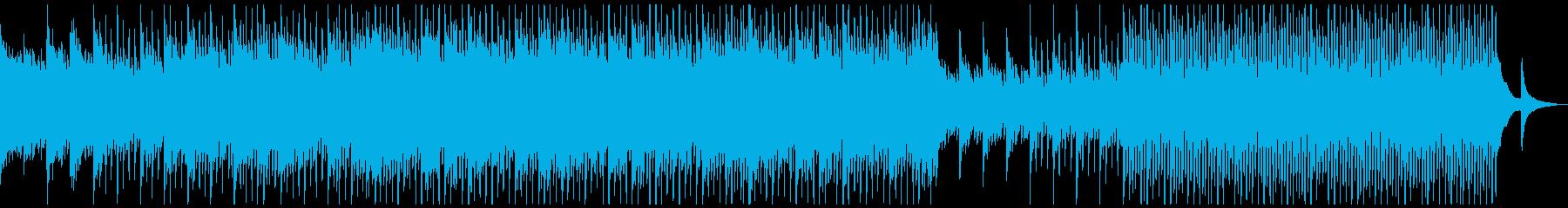 企業VP、ピアノ、4つ打ち.No.1-1の再生済みの波形