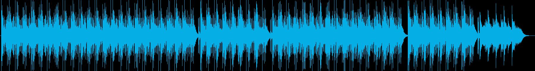 物憂げなピアノのメロディーの再生済みの波形