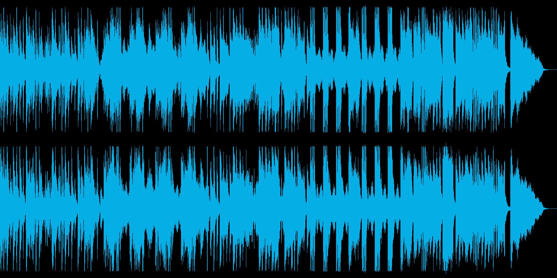 悲しく暗いファンタジーな曲の再生済みの波形