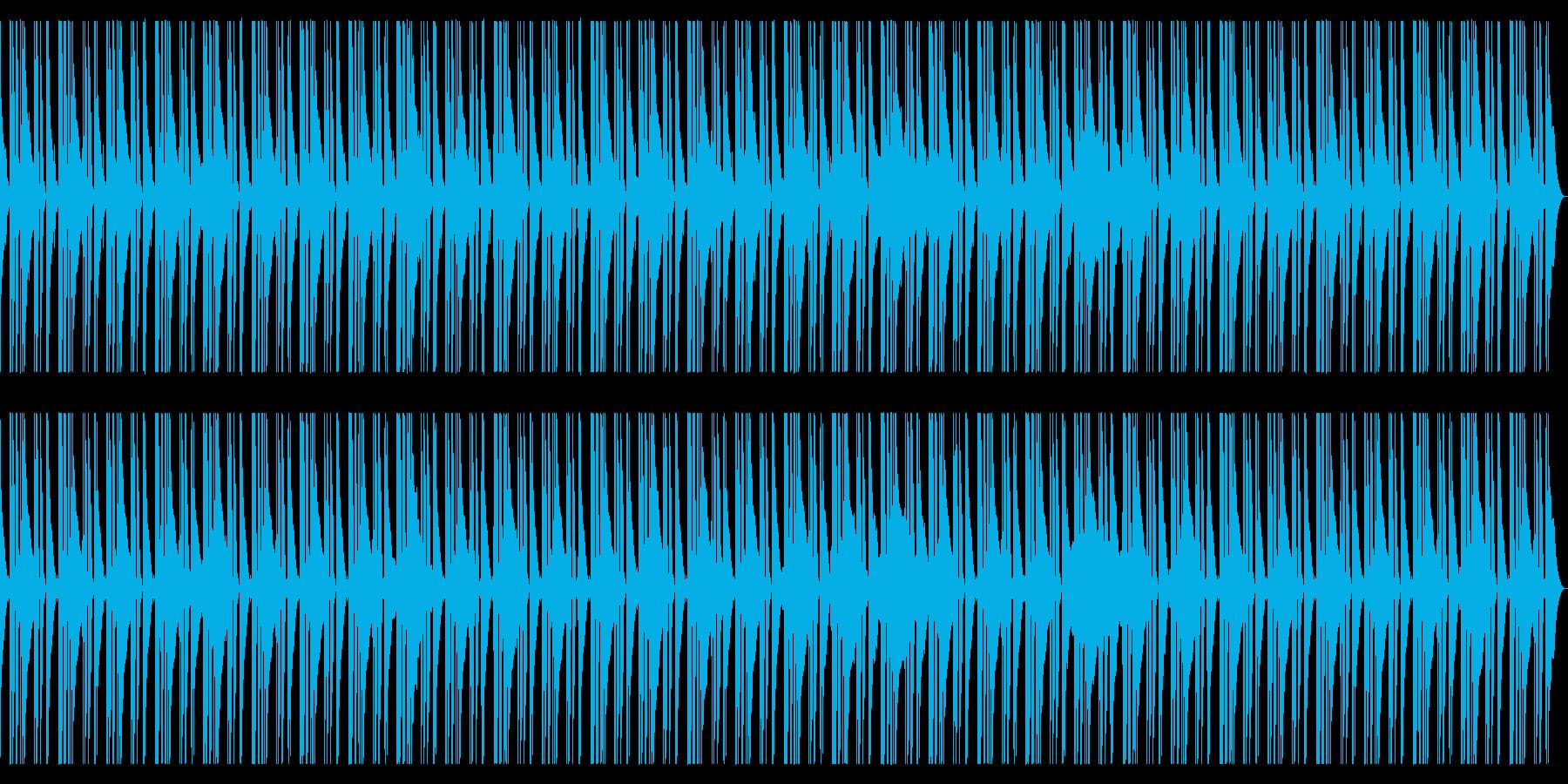 落ち着いた雰囲気のベース主体ジャズの再生済みの波形