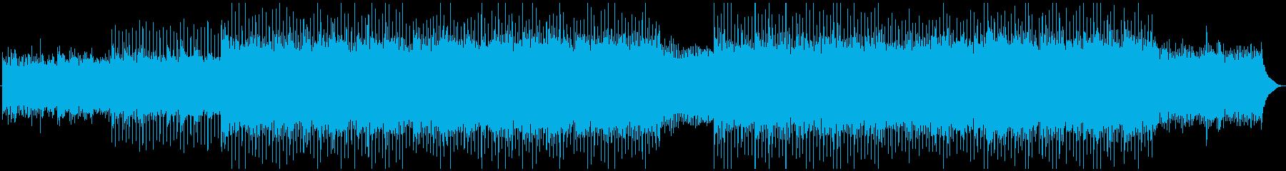 躍動感のある企業VP系ポップロックの再生済みの波形