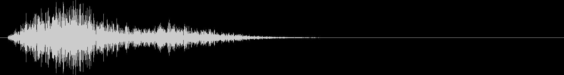 パフパフラッパ02の未再生の波形