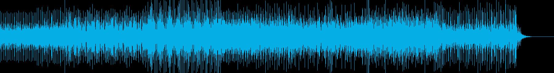 清涼感と小気味よいリズムが印象的なBGMの再生済みの波形