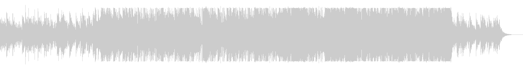 ベートーベン・悲壮 オルゴール+バンドの未再生の波形