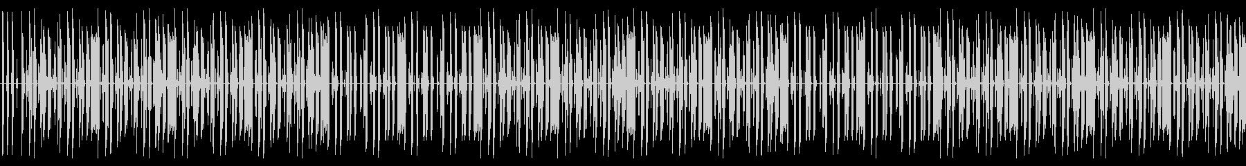 軽快なキレイめヒップホップBGMの未再生の波形