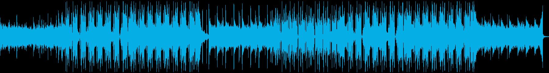 しっとりと落ち着いたヒップホップの再生済みの波形