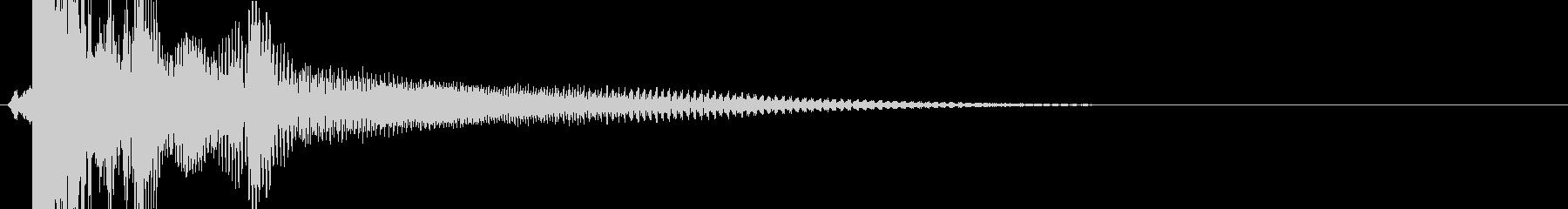KANT 巨大ロボット系機械の足音3の未再生の波形
