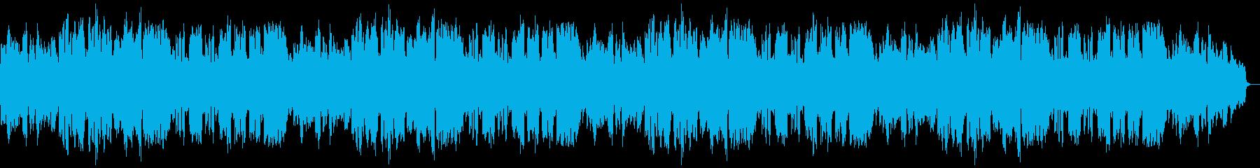 シャフルのリズム、仄々とした可愛い楽曲の再生済みの波形
