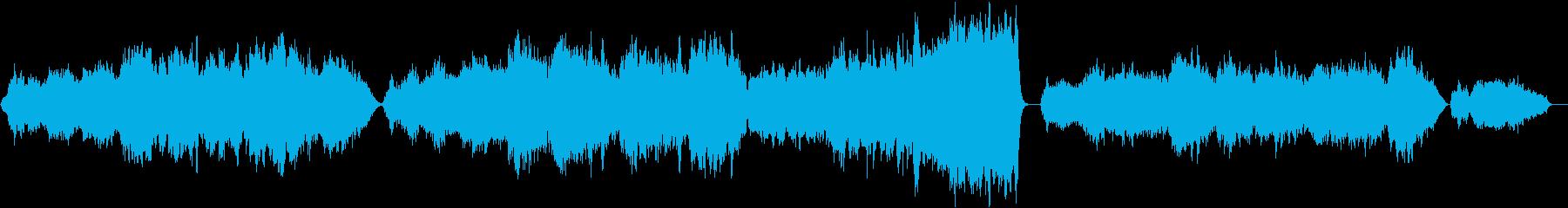 優しく、美しい、ストリングス アダージョの再生済みの波形