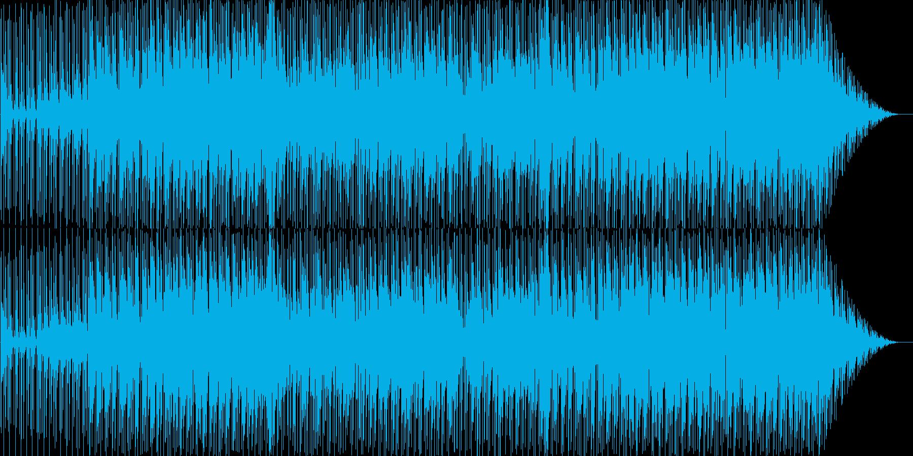 ピアノ・ドラム・ブラスをメインとしたブ…の再生済みの波形
