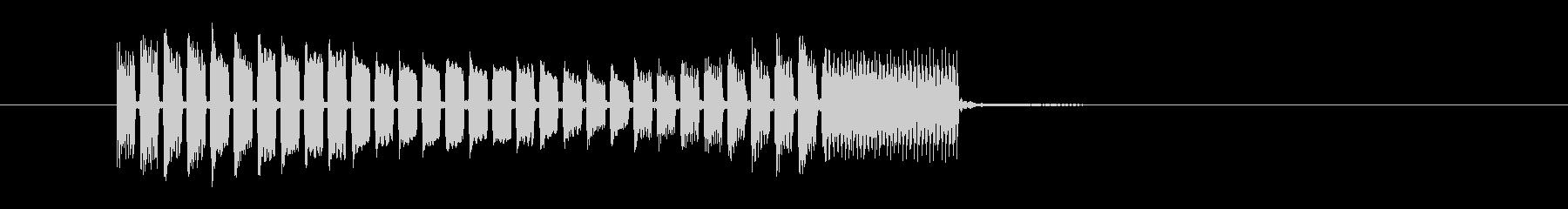 音楽電子シーケンス-音楽アクセント...の未再生の波形