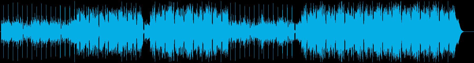 切なくてかっこいいアコギが特徴 Vlogの再生済みの波形