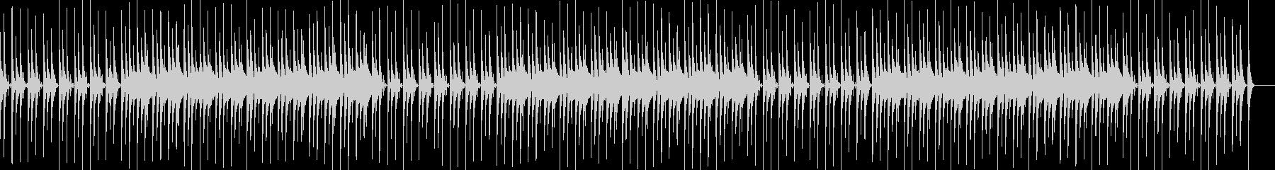 日常系BGM・シンセ・マリンバの未再生の波形