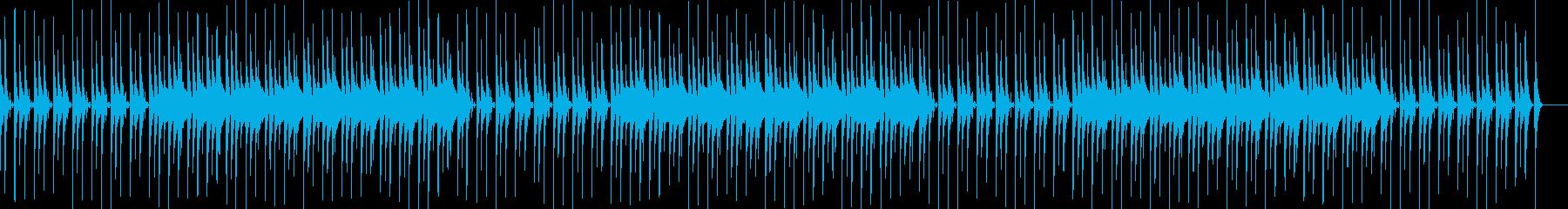 日常系BGM・シンセ・マリンバの再生済みの波形