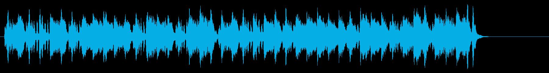 メルヘン・タッチののどかなクラシックの再生済みの波形