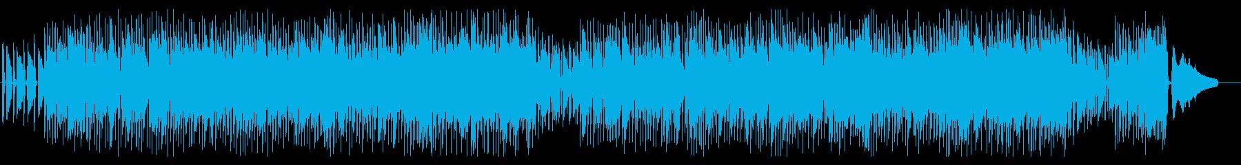 ノリが良くて可愛く明るい日常シーンの再生済みの波形