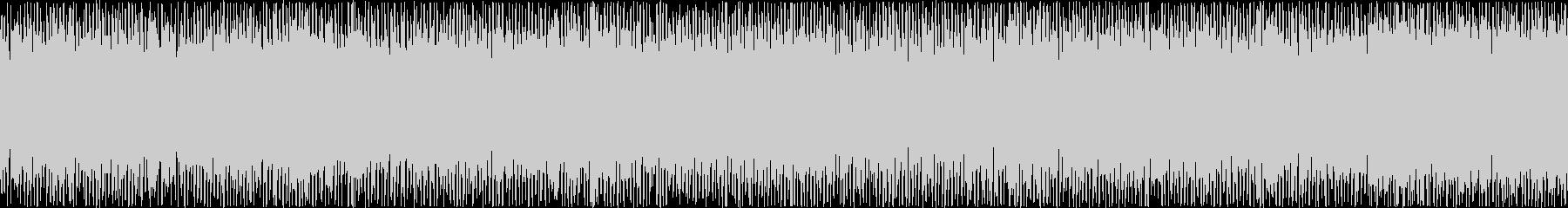 ザァー(FMラジオのノイズA)ループ処理の未再生の波形