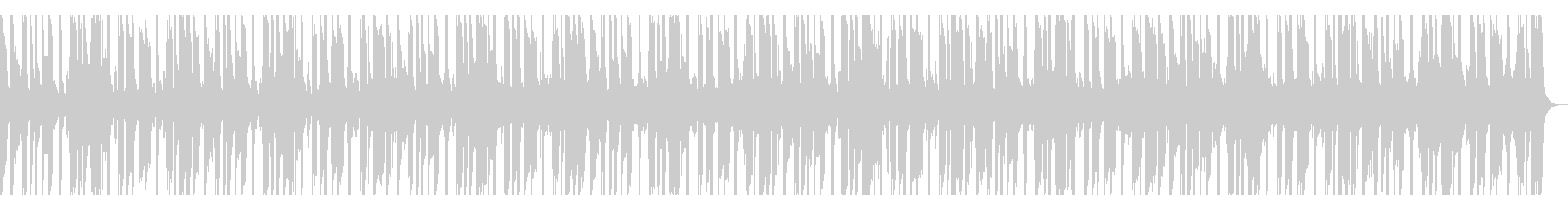 【短いVer11】スローファンクロックの未再生の波形