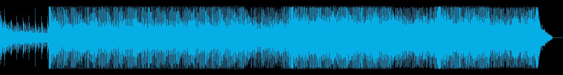 技術系VPに最適な疾走感あるテクノEDMの再生済みの波形