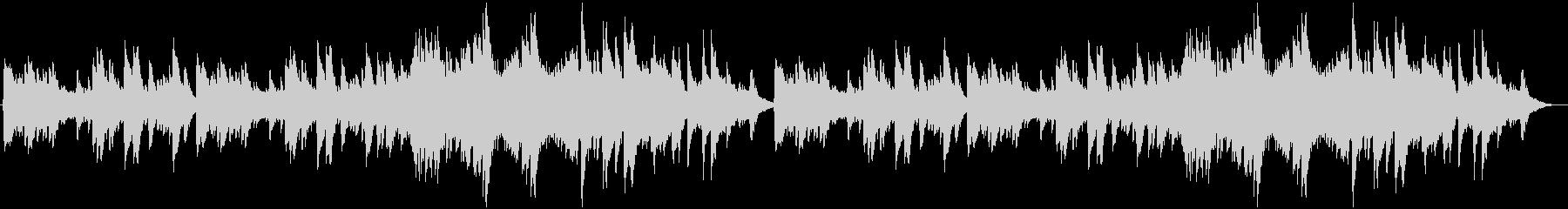 チェレスタの切ない小曲の未再生の波形