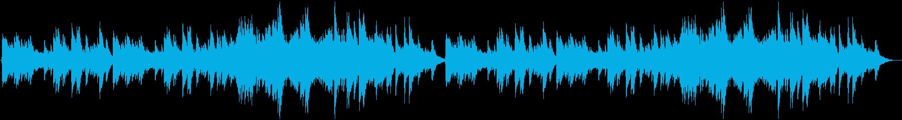 チェレスタの切ない小曲の再生済みの波形