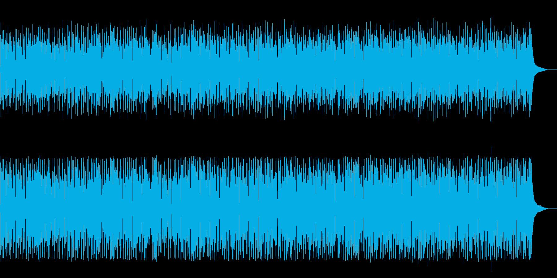 ライトライフスタイルのアコースティ...の再生済みの波形