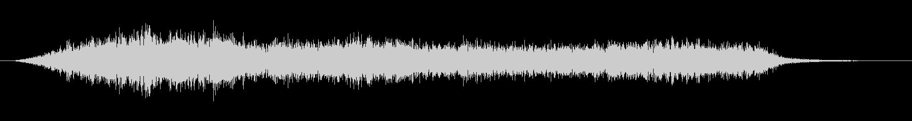 緊張 デーモン合唱団クラスターダウン01の未再生の波形