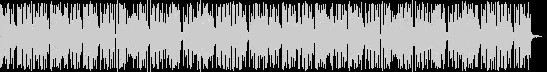 トロピカルなEDMの未再生の波形