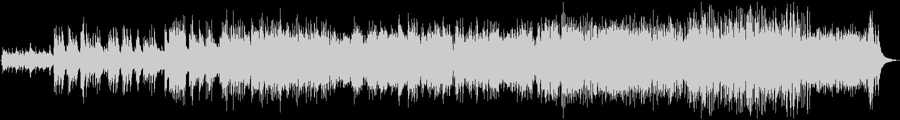 スパニッシュギターによるラテンバラードの未再生の波形