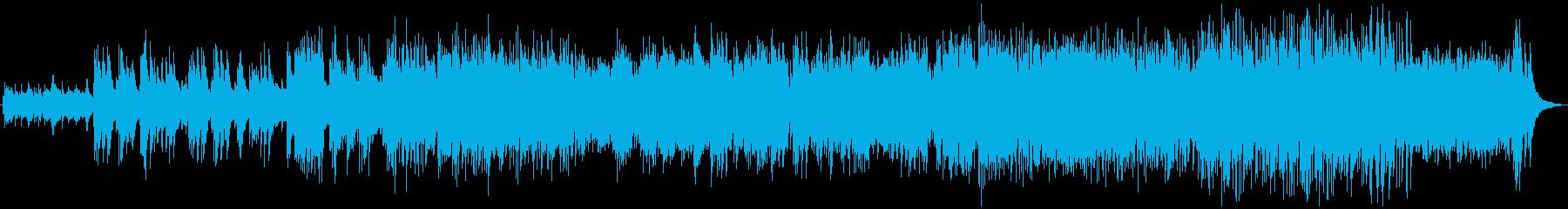 スパニッシュギターによるラテンバラードの再生済みの波形