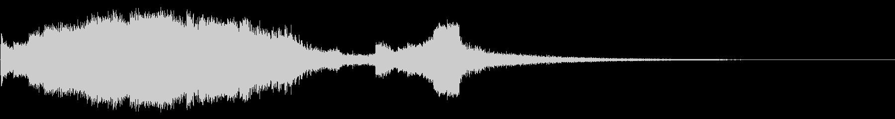 デジタルコンプレックスバースト1の未再生の波形