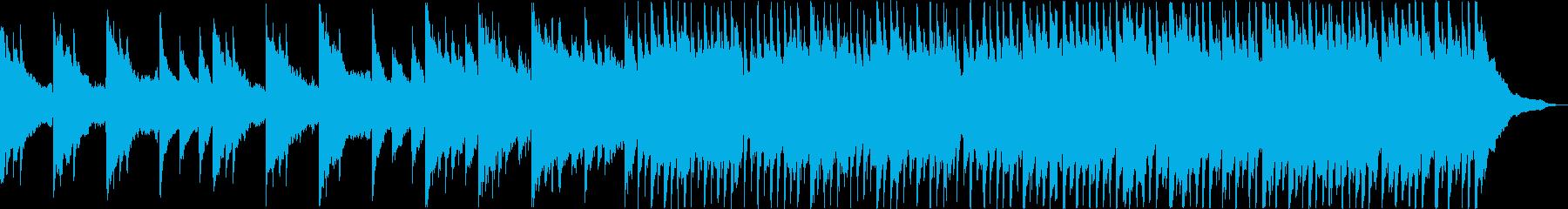【1分】暖かで感動的なピアノの企業VPの再生済みの波形