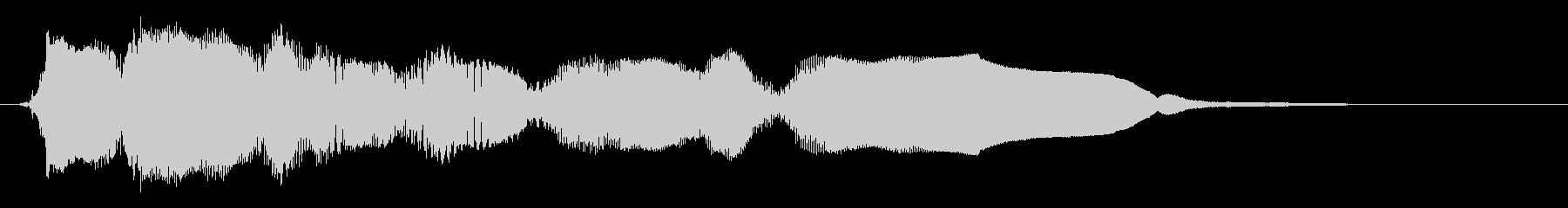 電子フィードバック:処理されたマル...の未再生の波形