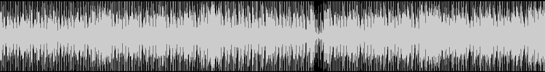 「ほのぼの・爽やか」ポップ(LOOP版)の未再生の波形