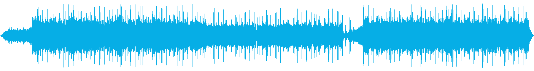 80年代風レトロフューチャーの再生済みの波形